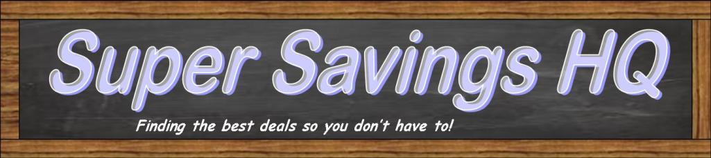 Super Savings HQ header image